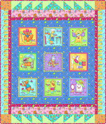 quilt pattern dog fabric
